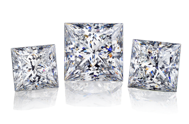 Wholesale Princess Diamonds Dallas 2, Shira Diamonds