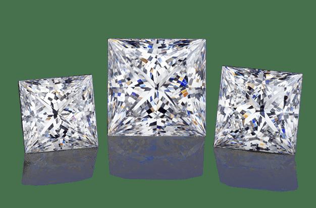 Wholesale Princess Diamonds Dallas 3, Shira Diamonds