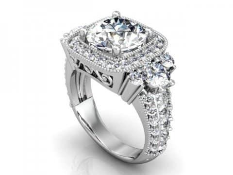 wholesale round diamond rings dallas 1