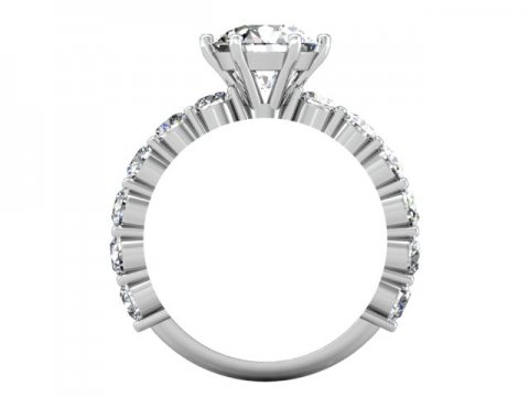 wholesale round engagement rings dallas 3
