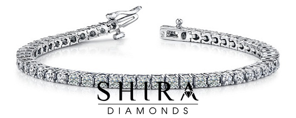 Ctw Round Diamond Tennis Bracelet 14K White Gold at Shira Diamonds in Dallas, Texas