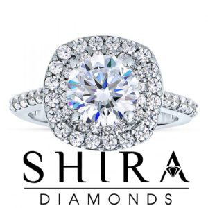 Cushion Halo Diamond Rings in Dallas Texas - Shira Diamonds (5)