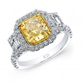 Fancy Yellow Radiant Cut Diamonds Dallas - Wholesale Fancy Yellow Diamonds