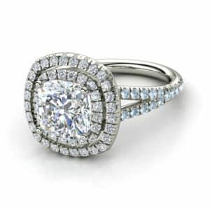 cushion diamond rings dallas