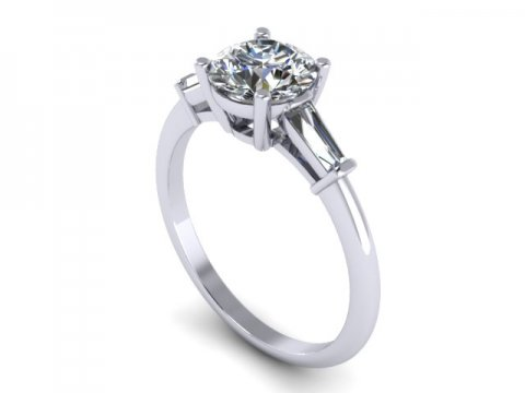 three stone diamond ring dallas 1 (2)