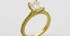 Halo Engagement Rings 300x154, Shira Diamonds