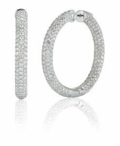 Hoop Earrings Shira Diamonds 247x300, Shira Diamonds