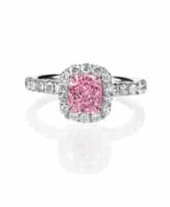 Halo Engagement Ring Shira Diamonds 246x300, Shira Diamonds