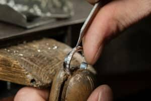 Man Fixing Ring 300x200, Shira Diamonds