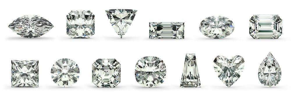 Different Diamond Cuts by Shira Diamonds